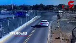 عجب صحنه ای/اتوبوس کولاک کرد! + فیلم