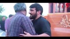 مداح بنز سوار دادِ روحانی معروف را درآورد!+فیلم