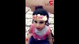 لحظه تکان دهنده سیگار کشیدن دختر 3 ساله با پدرش+ فیلم