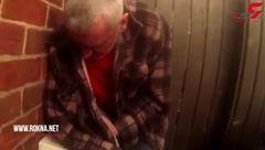 مردم دختر 15 ساله را از چنگ مرد 51 ساله در خیابان در آوردند+فیلم