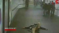 فیلم لحظه انفجار یک بمب گذار انتحاری در متروی نیویورک