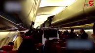 مسافران پرواز نجف_تهران از هواپیما پیاده نشدند+فیلم