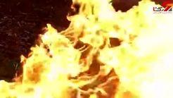 آتش زدن 500 فندک +فیلم