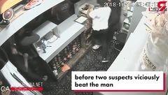 مردان ناشناس بولینگ را به هم ریختند! + فیلم