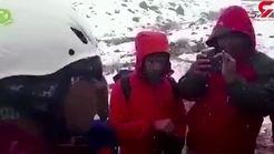 زن جوان در کولاک برفی به کوه دنا رفت! / عزیز از دست رفته اش مسافر هواپیمای مرگ بود + فیلم