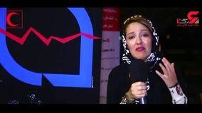 بغض بازیگر معروف سینما برای زلزله زدگان کرمانشاه + فیلم