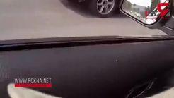 شیوه عجیب پلیس برای متوقف کردن ماشین فراری ها + تصویر
