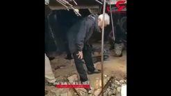 قبر صدام حسین زیر پای فرمانده سپاه !+فیلم