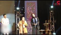 سخنان سارا بهرامی پس از بردن جایزه بهترین بازیگر زن+فیلم
