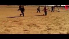 مسی ایران فردا ، با پای برهنه!+فیلم