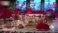 جشن عروسی زوج لرستانی سیلزده در بالگرد هلال احمر + فیلم