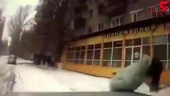 عاقبت تلخ دویدن دختر 15 ساله به وسط خیابان + فیلم