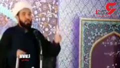 هیجان امام جمعه جوان جلفا از بازی تیم ملی فوتبال  + فیلم
