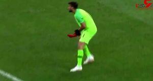 ماجرای بادکنک مزاحم در بازی سوئیس_برزیل چه بود؟ +فیلم