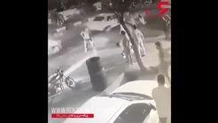 جزییات کتک خوردن 2 پلیس راهور از 4 اوباش! / اطلاعیه ناجا+ فیلم لحظه حمله