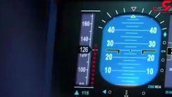 اشتباه مرگبار خلبانان / 50 مسافر کشته شدند + فیلم