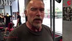 حرکات ورزشی آرنولد در 71 سالگی+فیلم