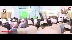 حضور بشار اسد در مسجد جامع الروضه برای اقامه نماز عید قربان +تصویر