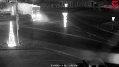 عاقبت خواب آلودگی راننده تریلی هنگام رانندگی در شب + فیلم