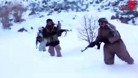 فیلمی دیده نشده از آتش سنگین سپاه به نیروهای مسعود رجوی!