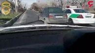 این مرد پلید از ترس تهران را به هم ریخت! /فیلم لحظات دلهره آور تعقیب و گریز پلیسی + جزییات