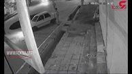 فیلم لحظه سقوط خودرو در خیابان ولیعصر / فرماندار  چه گفت ؟  + جزییات