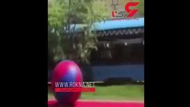 برگزاری مسابقه بولینگ با قطار! + فیلم