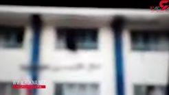 فیلم لحظه خودکشی دختر دانش آموز دبیرستانی در ساری
