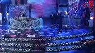 رقص امین حیایی و احسان علیخانی در پخش زنده+فیلم