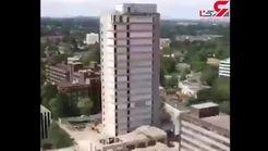 تخریب برج 20 طبقه را در کمتر از یک دقیقه ببینید + فیلم