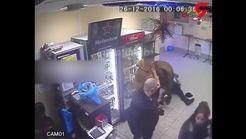دختر جوان مرد مست را به باد کتک گرفت / او طاقت ظلم این مرد را نداشت+ فیلم