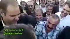فیلم شوخی عجیب وزیر بهداشت با پیرمرد بیمار / مشاور روحانی واکنش نشان داد + فیلم
