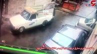 این مرد با نقشه پلید در خیابان های ستارخان تهران پرسه می زد + فیلم
