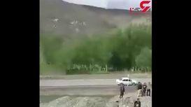 فوری /ریزش کوه قطار  ایران -ترکیه را از ریل خارج کرد