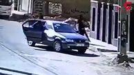 مردان پلید زن اهوازی را محکم گرفتند و داخل ماشین انداختند ! + فیلم لحظه اقدام وحشیانه