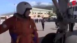 فرود دو بمب افکن هسته ای روسیه در ونزوئلا + فیلم