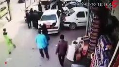 له شدن یک زوج اصفهانی زیر خودرو بر اثر استارت زدن کودک +فیلم هولناک