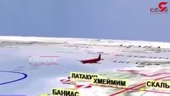 فیلم جزییات سقوط هواپیمای روسی توسط رژیم صهیونیستی + تصویر
