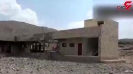 بمباران یک خانه و یک مدرسه در استان صعده یمن توسط متجاوزان سعودی +فیلم