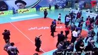 لحظه کتک کاری شدید در لیگ والیبال ایران / بازیکن ملی پوش نقش اول بود! +فیلم