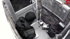 مردی که به خاطر کثافت کاری سیستم امنیتی را دور زد! +فیلم