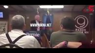 اعصاب ضعیف کاندیدای معروف دموکراتها سوژه رسانهها شد! + فیلم