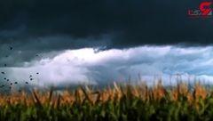 صاعقه های حیرت انگیز در فراز آسمان ها + فیلم