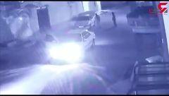 فیلم لحظه سرقت مسلحانه از یک طلافروشی در دزفول