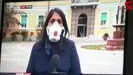 اقدام ناشیانه خبرنگار بی بی سی در روزهای کرونایی + فیلم