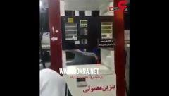 دزدی بنزین در پمپ بنزین ها ! + فیلم