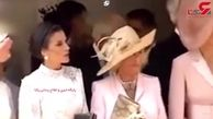 تذکر به عروس پرحرف خاندان سلطنتی انگلیس در یک مراسم رسمی! +فیلم