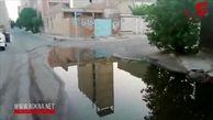 اوضاع بحرانی فاضلاب در اهواز + فیلم