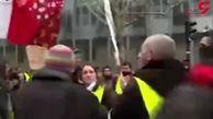 بازداشت ۱۷ نفر در تظاهرات روز شنبه در پاریس + فیلم