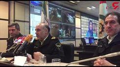 آخرین تعداد مصدومان چهارشنبه سوری در تهران از زبان رئیس پلیس + فیلم